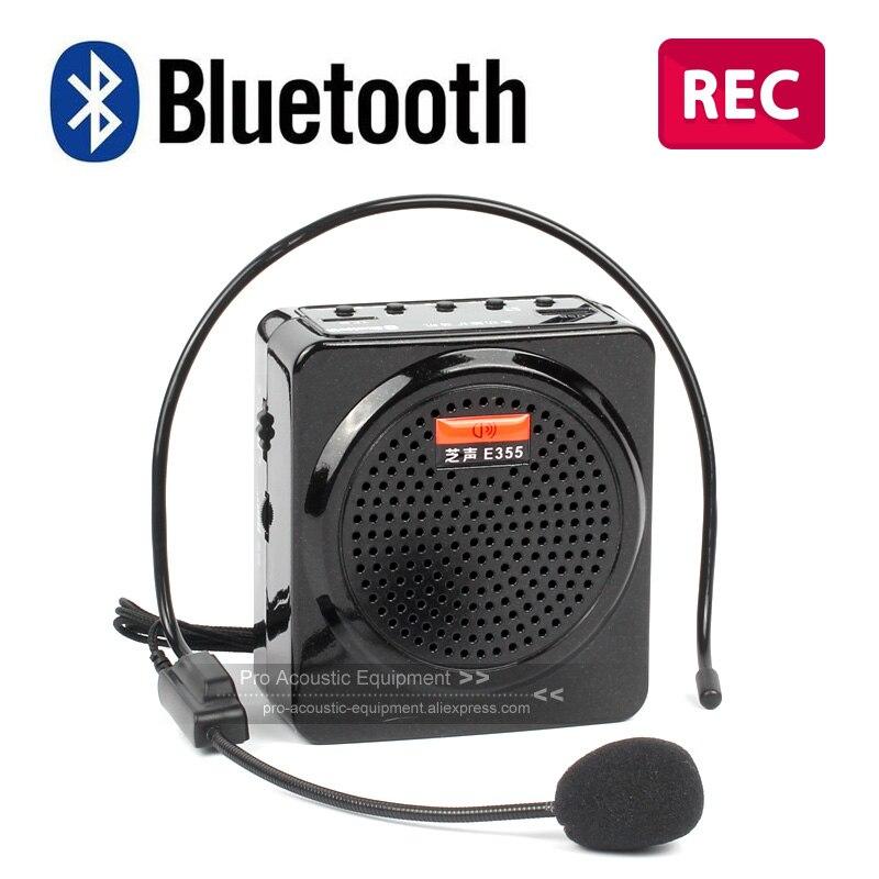 Bluetooth Megaphone Voice Amplifier Booster REC Speaker Microphone Recorder FM Radio For Teaching Tour Guide Subway Metro Coach bluetooth