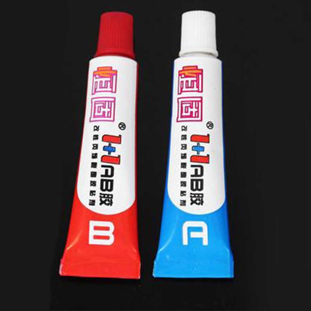 10g çok amaçlı güçlü yapıştırıcı A B AB tutkal A + B epoksi reçine tutkal plastik Metal seramik kauçuk