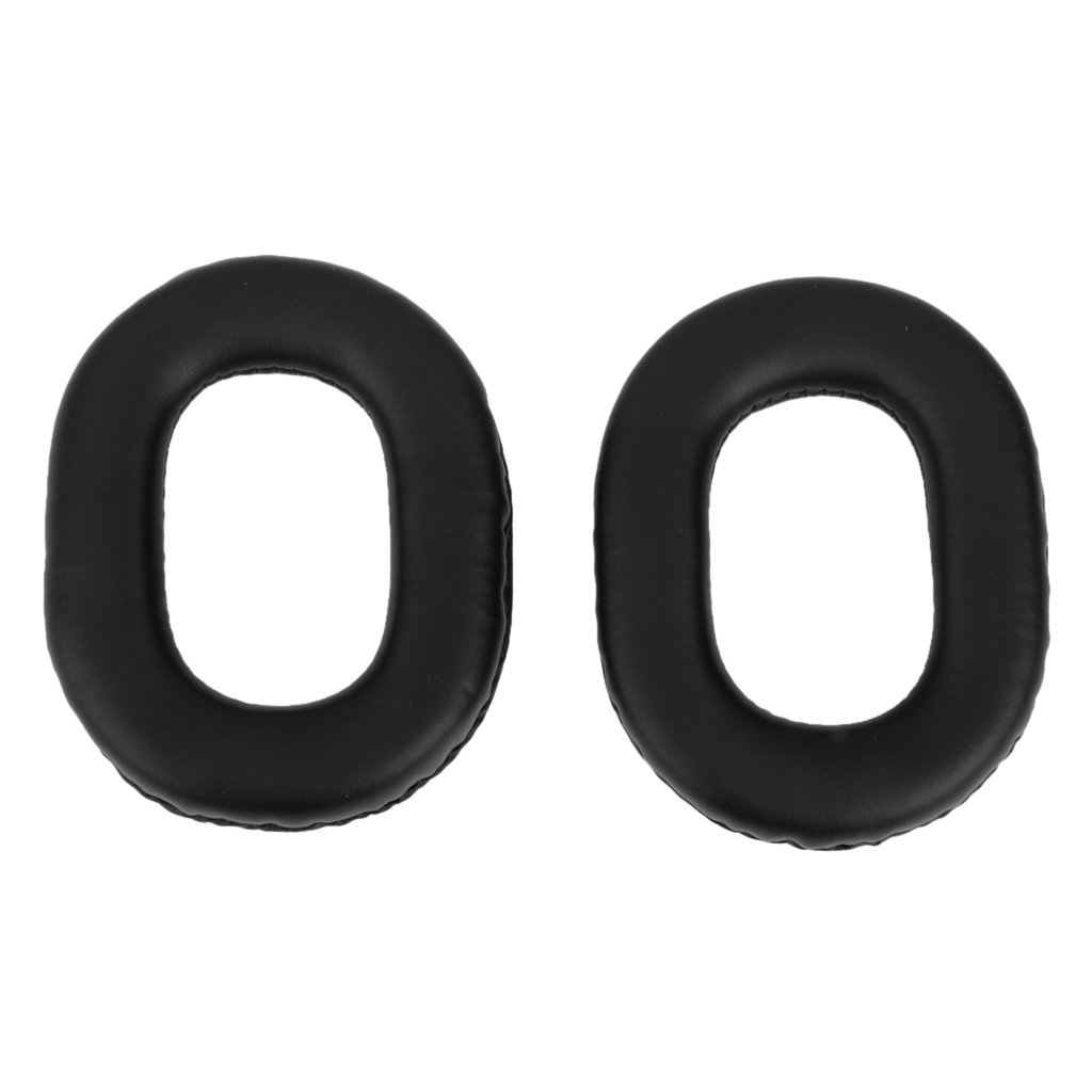Replacement Ear Cushion Cover Shock Absorber for Panasonic RP-HTX7 Headphones Black