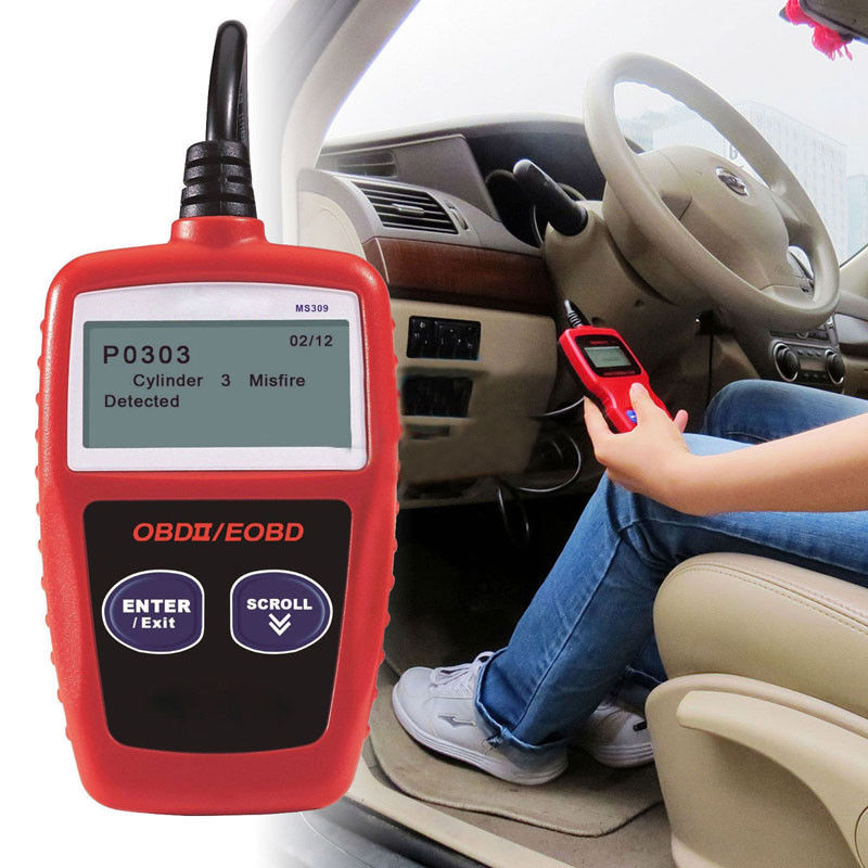 MS309 OBD2 OBDII EOBD Car Fault Code Reader MaxiScan MS309 Diagnostic Tool UK