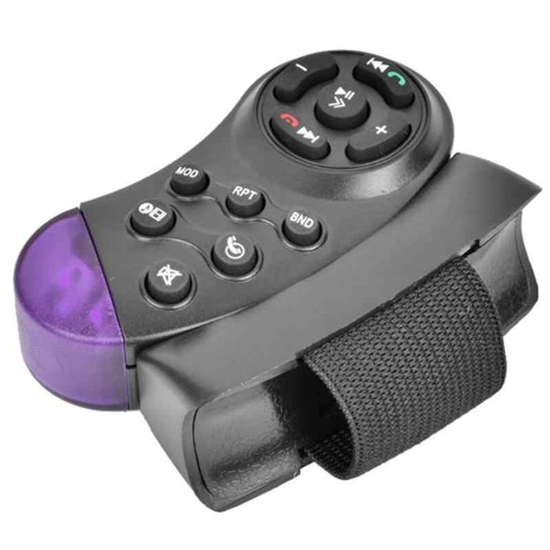 11-chiave Portatile Carro Controle remoto Universale Auto MP5 Multimedia Lettore CD DVD VCD Volante di Controllo A Distanza Senza Fili