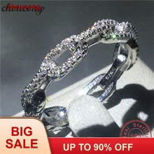 Choucong CHAIN Shape Real Soild 925 แหวน(China)