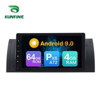 Android 9.0 Core PX6 A72 Ram 4G Rom 64G Car DVD GPS Multimedia Player Car Stereo For BMW X5 E53 Series 2000 2001 Radio Headunit