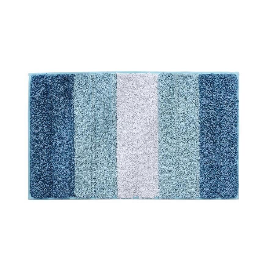 Non Slip Bath Mats For Bathroom Microfiber Absorbent Bathroom Rugs Machine Washable Bath Rugs