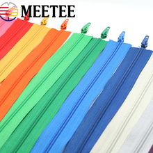 5 Meter 3# nylon zipper  DIY handmade bags Tent Backpack sofa cover Home textile zippers Free gift zipper head puller сумка printio борода моряк byeva ru