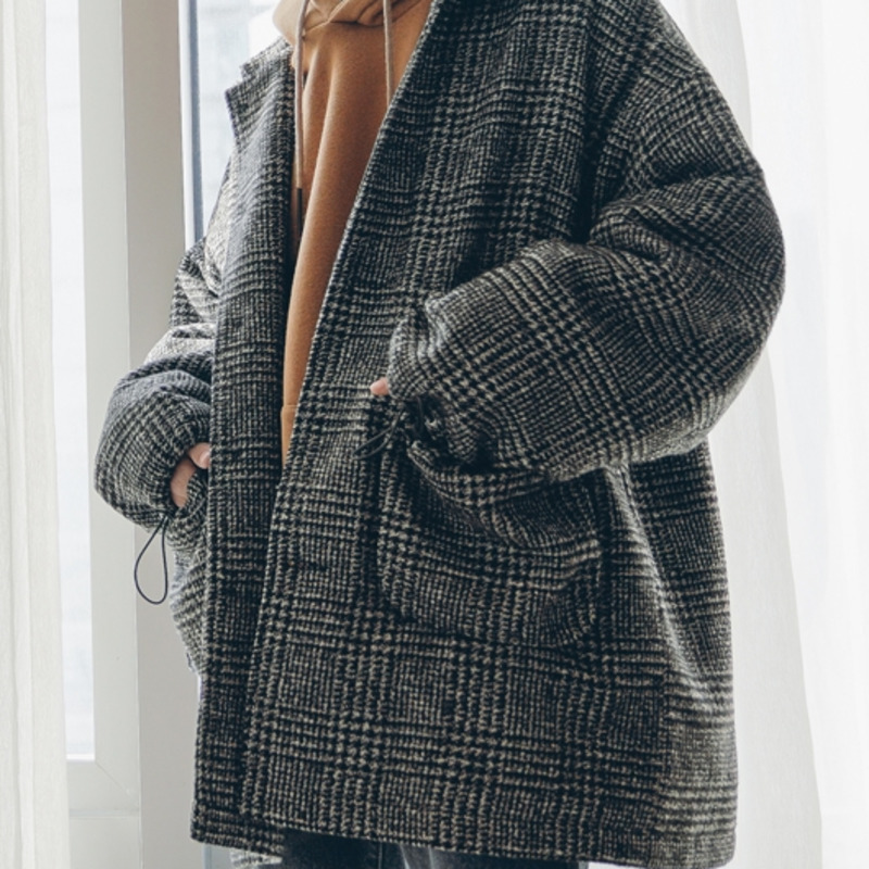 Warm Fashion Loose Large  Coat 4