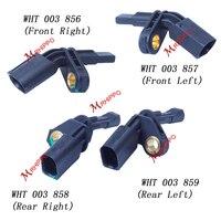 1Set WHT 003 856 WHT 003 857 WHT 003 858 WHT 003 859 FWD ABS Speed Sensor For Golf MK5 MK6 Passat B6 B7 EOS TT A3 S3 Q3