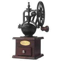 Manual Coffee Grinder Vintage Style Ferris Wheel Hand Grinding Machine Molinillo Cafe Grain Mill Grinder Coffee
