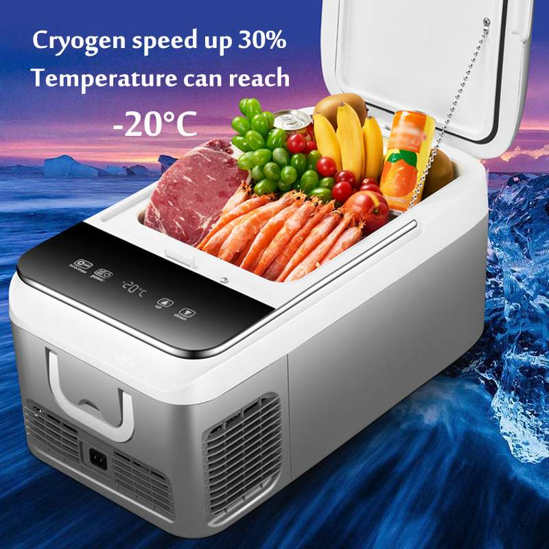 Buy Cheap Dc 12v 240v Car Refrigerator Freezer Cooler 18l Car Fridge Compressor For Car Home Picnic Refrigeration Freezer Car Electrical Appliances 20~10 Degrees