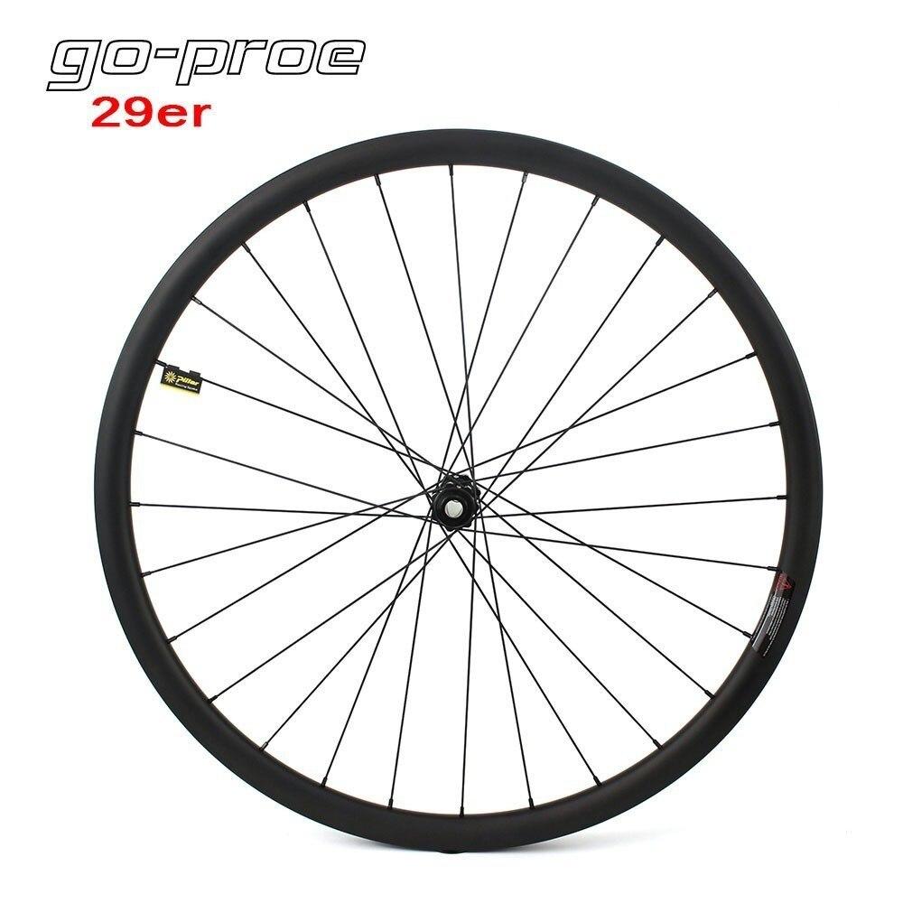 29er Carbon Wheels 700C MTB Wheel Super Light With DT Swiss 240 Hub Pillar Psr Aero/Sapim Cx ray Spoke Mountain Bike Wheelset Bicycle Wheel     - title=