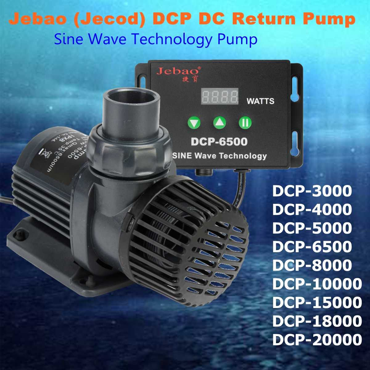 Jebao/Jecod DCP Series 3500-20000 Maring Flow Rate DC Sine Wave Return Submersible Water Pump