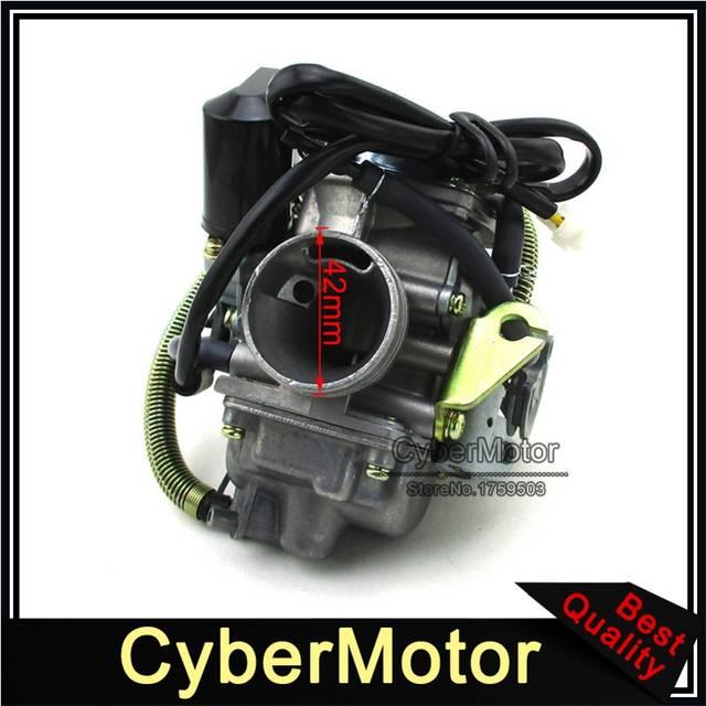 US $28 42 5% OFF PD24 Carburetor Carb For American Sportworks Quantum Manco  Helix Carbide Zircon 150 150cc Go Kart Dazon Raider Buggy Dunebuggy-in