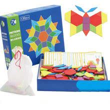 130pcs Wooden Puzzle +24pcs Card Board Set Colorful Baby Early Educational Toy For Children Learning Developing Toys
