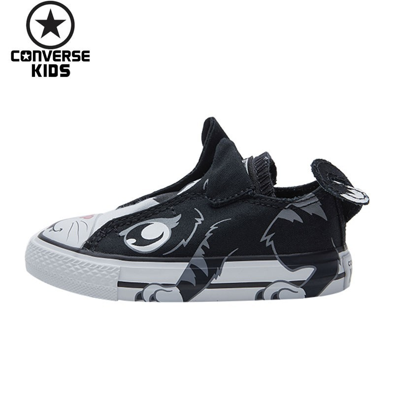 Converse детская обувь магические субсидии низкая помощь парусиновая обувь детские животные кролик парусиновая обувь 761969C R