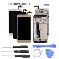 Original Sensor LCD Display For Xiaomi Redmi Note 4X LCD Display Touch Screen Replacement Frame Tools For Xiaomi Redmi Note 4X