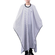1PC Stripe Design Apron Classic Vintage Unisex Hair Stylist Apron Barber Cape Haircut Cape for Salon Home Barber Shop(China)