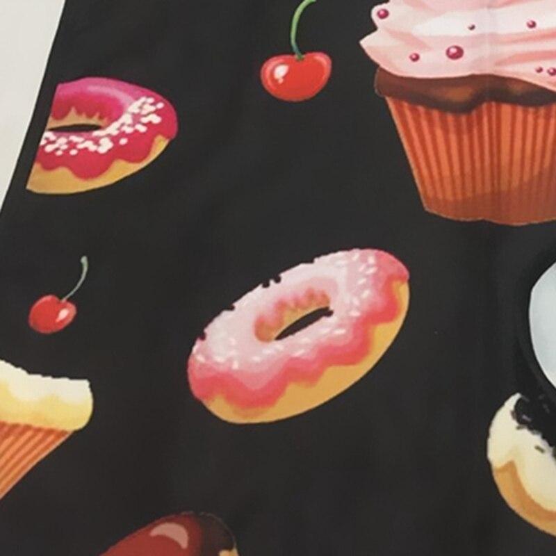 Gelato Donut Delizioso Dessert Il Personale del Negozio di Vestito Up di Bellezza Da Cucina Abiti Indumenti Protettivi Genitore-Bambino Attività Grembiule