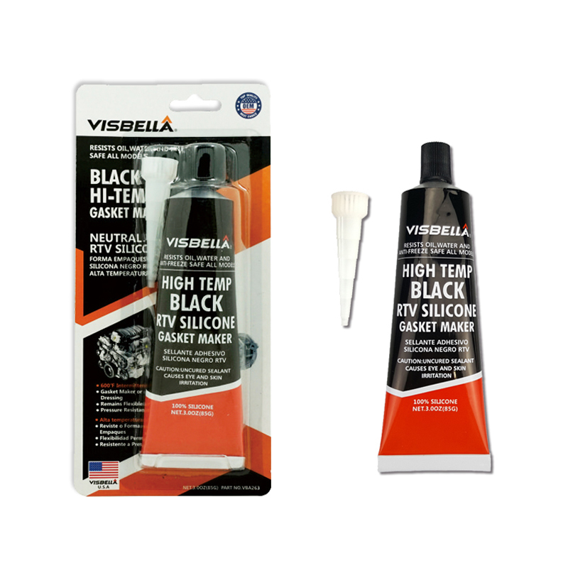 VISBELLA 85g  RTV Silicone Gasket Maker Sealant Neutral Heat Resistant Fast Glue For Engine Valve Covers Repair Hand Tool Sets