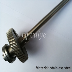 Image 4 - Stainless steel quality SM52 water roller gear shaft G2.030.201 R2.030.207 MV.101.755 MV.022.730