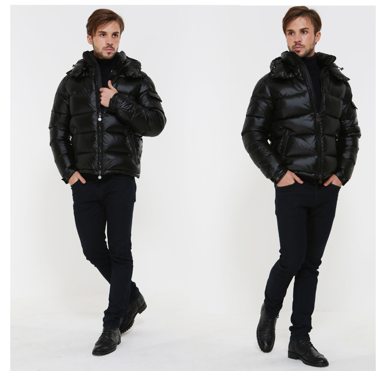 AYUNSUE Men's Down Jacket Winter Coat Men Clothes 2019 Short Puffer Jacket Warm Doan Coat Men's Jackets Doudoune Homme KJ1031
