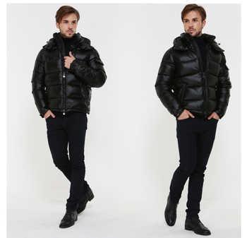 AYUNSUE Men\'s Down Jacket Winter Coat Men Clothes 2020 Short Puffer Jacket Warm Doan Coat Men\'s Jackets Doudoune Homme KJ1031