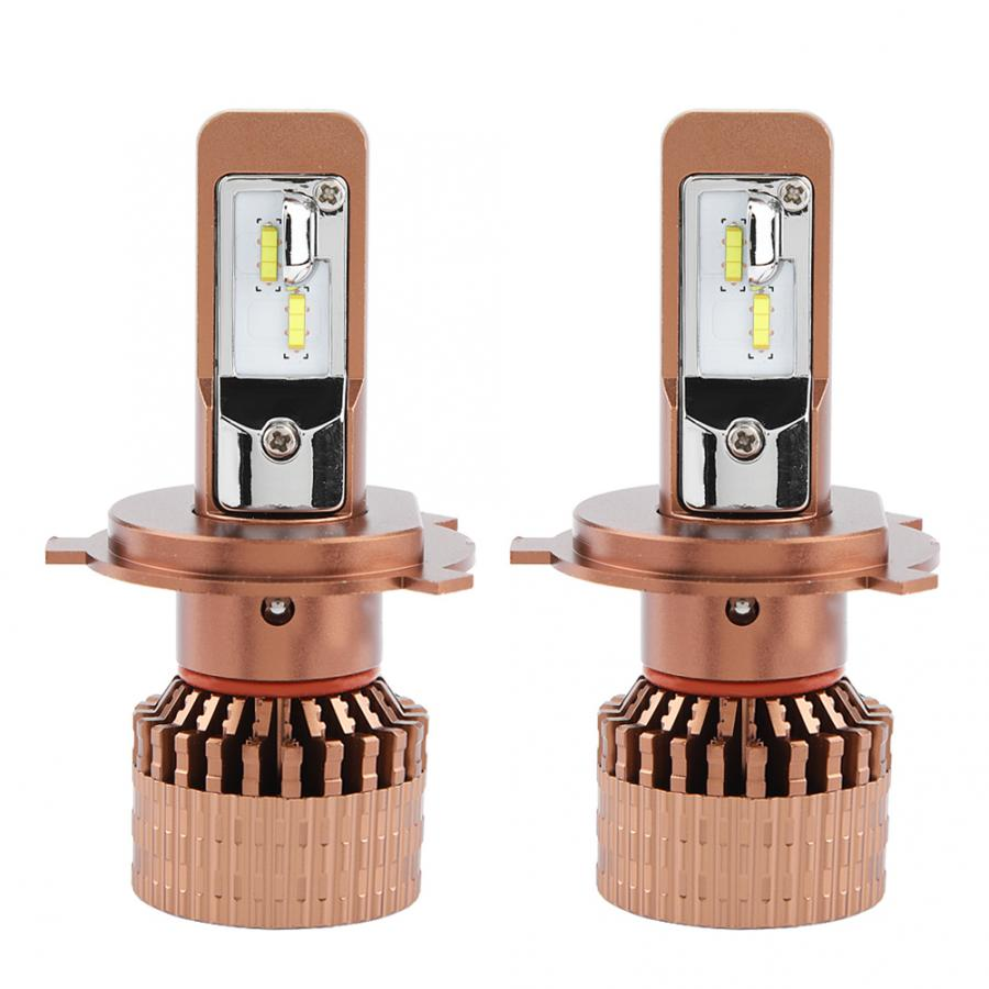 Lampes pour des voitures 2 pièces 6000 K 2800LM Super Lumineux Voiture Auto phare LED Kit D'ampoules de Phare pour H4 Accessoires De Voiture