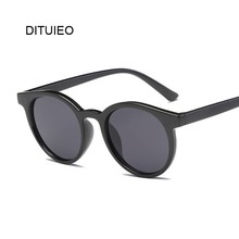 Новинка, женские брендовые дизайнерские Роскошные винтажные черные солнцезащитные очки «кошачий глаз», женские очки UV400
