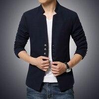 Men's youth tunic men's Korean version of Slim Chinese collar jacket Chinese groom wedding dress coat