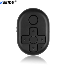 KEBIDU кнопка спуска затвора Bluetooth пульт дистанционного управления аксессуар для селфи камера управление Лер для iPhone IOS Android телефон