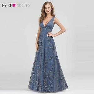 Image 3 - Sexy vestidos de baile de sempre muito profundo decote em v sem mangas a linha barato feminino vestidos de festa formal estilo de noche 2020