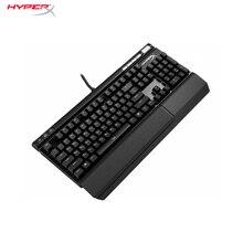 Компьютерная игровая геймерская механическая клавиатура с подсветкой HyperX Alloy Elite RGB Cherry MX Blue cyber sports