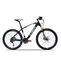 26 inch Carbon Fiber Mountain Bike 30 Speed 33 Speed Professional Racing Mountain Bike Ultra light Carbon Fiber Frame Off road B