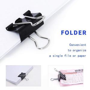 Image 4 - Schwarz Binder Clips,Extra Große, 2 Zoll (30 Pack), binder Clips Papier Schellen für Büro/Schule Liefert SCLL