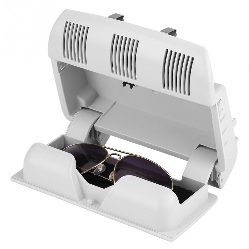 Para Skoda Octavia Fabia Roomster gafas de sol gafas caso contenedor lentes titular gris Beige 1Z0868565E