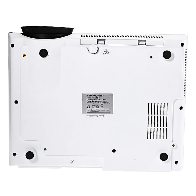 Original Projector LED-86 LCD Projector Media Player 3500 Lumens 1280 x 800 Pixels for Home Office Education