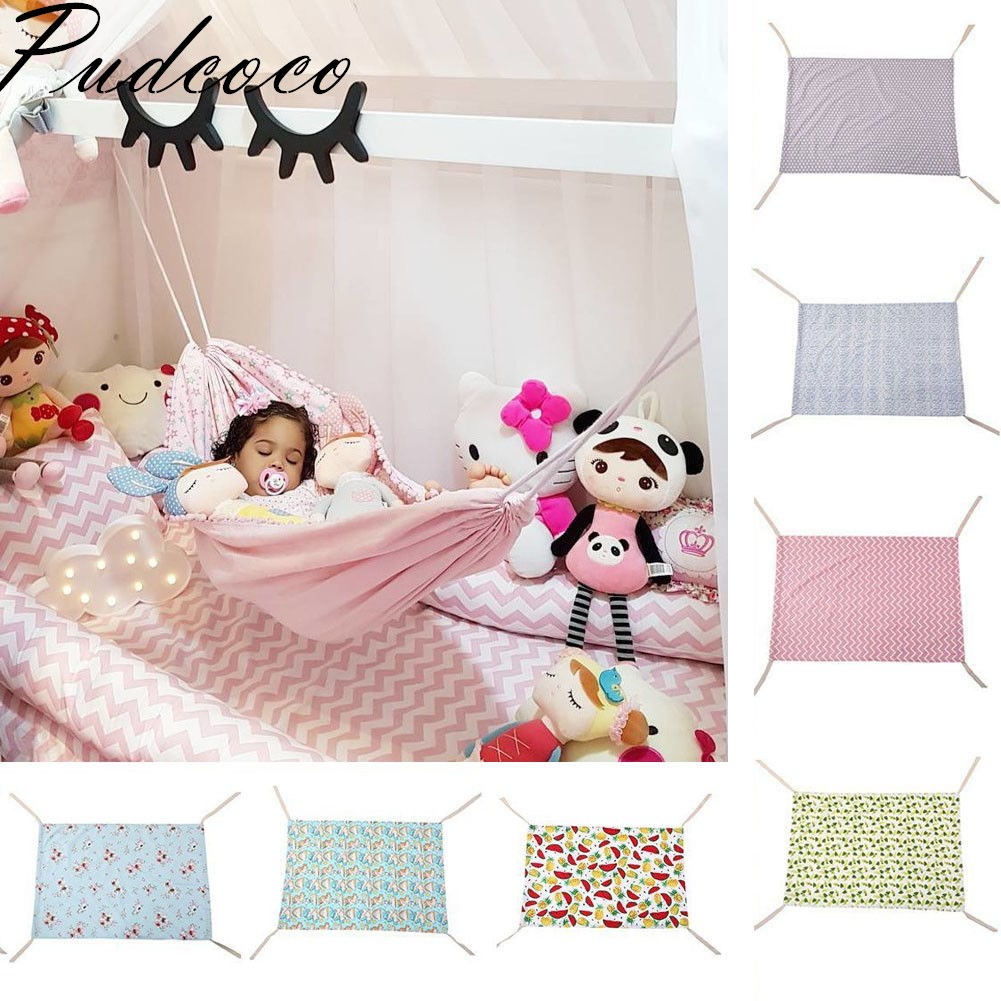Pudcoco 2019 Brand New Baby Kids Soft Hammock Newborn Infant Bed Elastic Detachable Healthy Child Crib