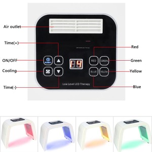 Image 4 - Genuino 4 di Colore LED photon terapia della luce macchina PDT trattamento di Rigenerazione della pelle Stringere Rimozione Anti rughe Spa La Cura Della Pelle strumento