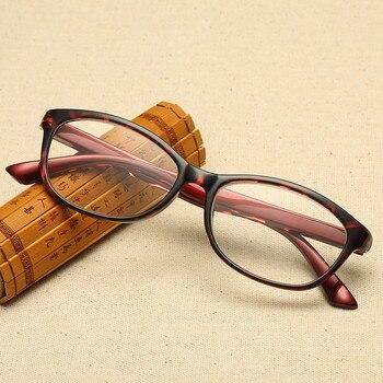 aa617345aea6a Classique Anti lumière bleue lunettes de lecture femmes léopard résine  clair lentille Anti-fatigue presbyte lunettes lunettes unisexe