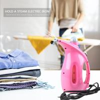 800W Handheld Garment Steamer Mini Steam Ironing Machine with Brush Clothes Ironing Steamer Brush for Home 220 240V