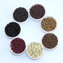 Силиконовые микро-бусины нано кольца наборы для наращивания волос 500 шт/бутылка силиконовый вкладыш парикмахера специальные инструменты для наращивания волос