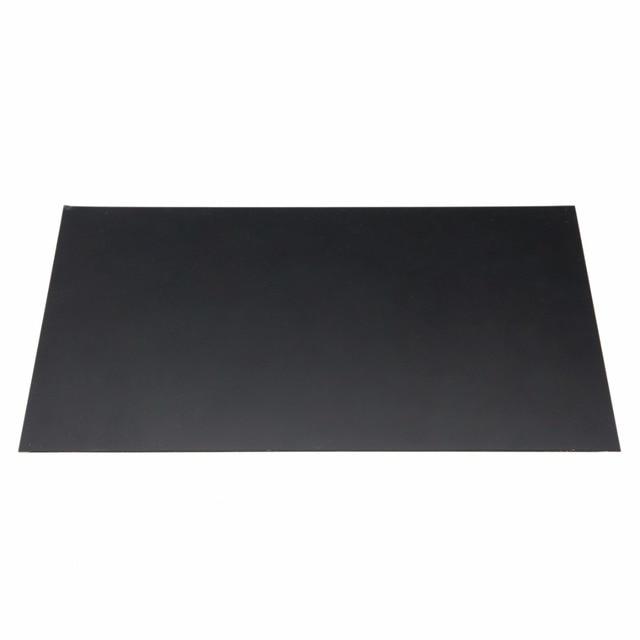 1個黒耐久性のあるabsスチレンプラスチックフラットシートプレート1ミリメートル × 200ミリメートル × 300ミリメートル工業用部品