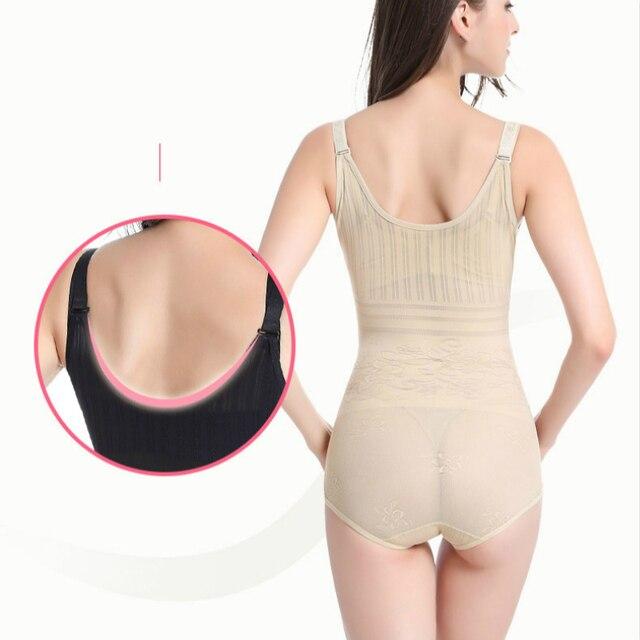 Women Post Natal Postpartum Slimming Underwear Body Shaper Recover Bodysuits Shapewear Waist Corset Girdle Black Khaki Lingerie 2