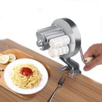 Small Home Italian Pasta Noodle Machine Manual Dough Machine Household Kitchen Snack Hand Shake Pasta Machine Kitchen Supplies