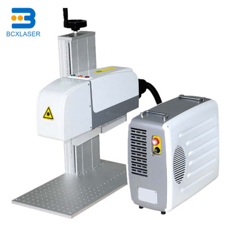 Chinese Factory Fiber Laser Marking Machine With Stainless Steel Work Table