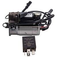 Air Suspension Pump Compressor For VW Touareg For Audi Porsche For Cayenne 4L0698007B 7L0698007E
