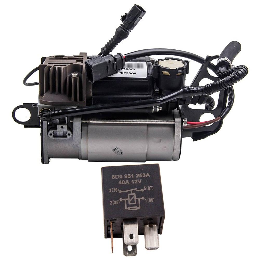 Aria Sospensione della Pompa del Compressore D'aria Per Il VW Touareg Per Audi Porsche Cayenne 4L0698007B 7L0698007E