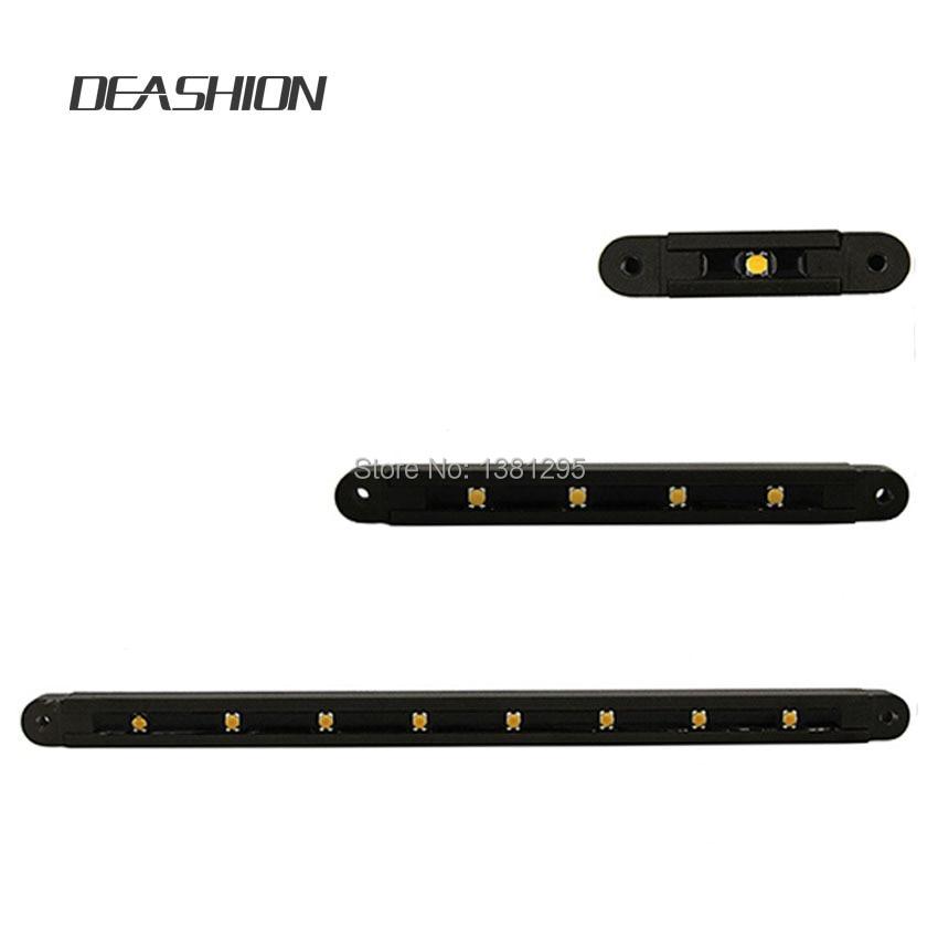 12V AC DC Low Voltage Outdoor LED Landscape Lighting Hardscape Step Deck Retaining Wall Light Led Light Bar Mounting Bracket