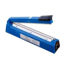 12 Inch Food Sealer Packaging Machine Sealing Machine Hand Pressure Manual Impulse Hand Heat Sealer Bag Machine Eu Plug
