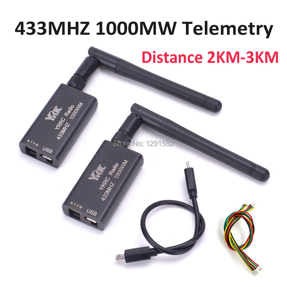 3DR Radio Telemetry 433mhz 433 1000MW Data Telemetry TTL USB Port 2 3KM distance for APM