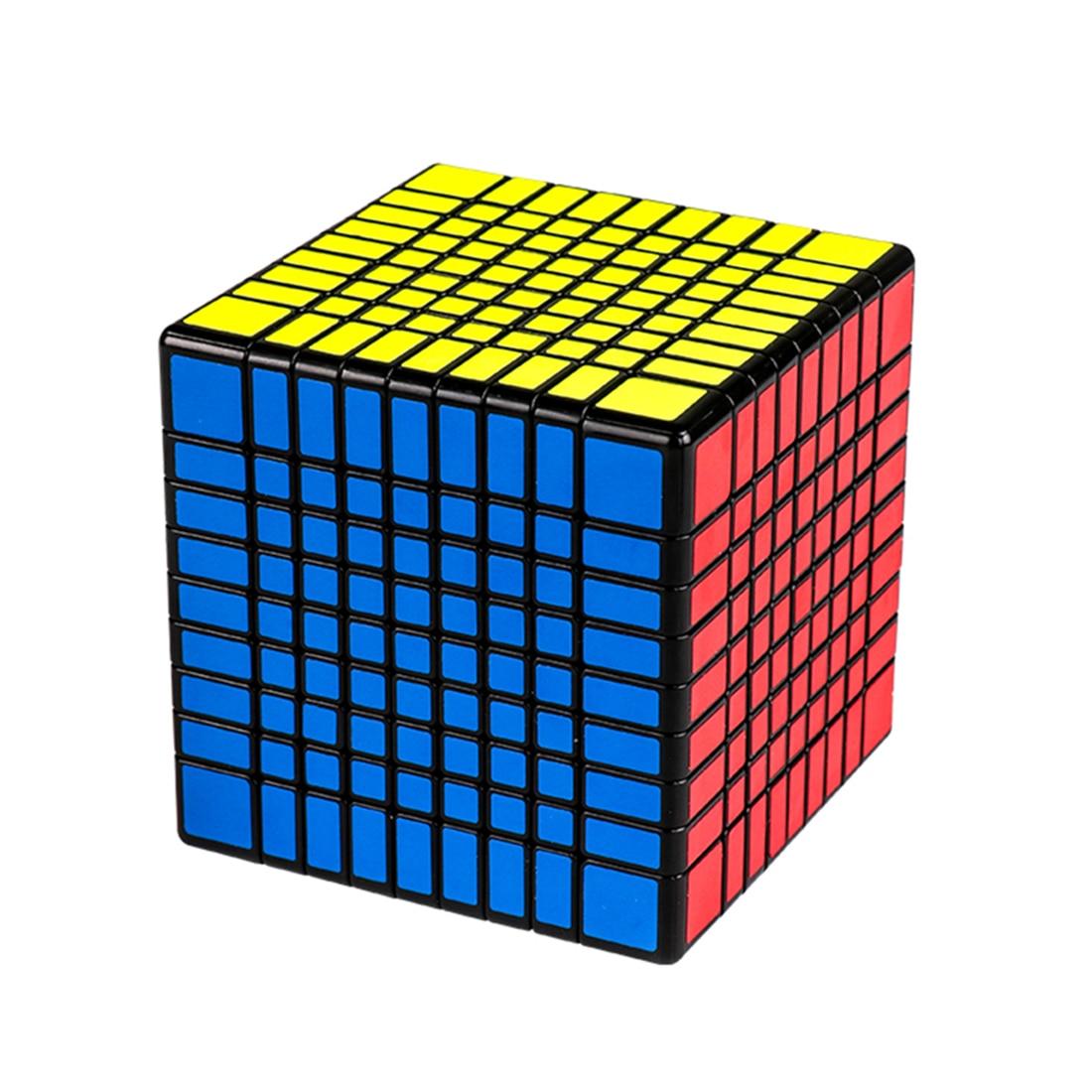 MF8856 Mofang Jiaoshi MF9 9x9 Magic Cube for Brain Trainning Black